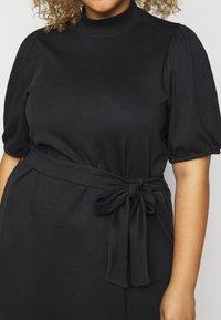 Vero Moda Curve - VMFOREST DRESS - Jersey dress - black - 5