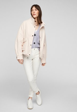 Denim jacket - light blush