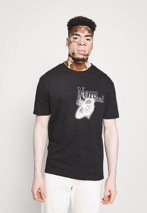 REALITY - T-shirt print - black