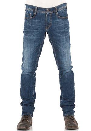 OREGON - Slim fit jeans - mid blue denim