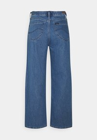 Lee - WIDE LEG - Jeans baggy - mid stone - 1