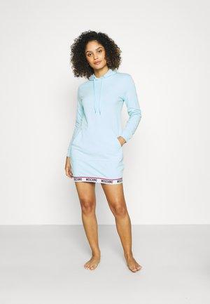 MAXI HOODIE - Nattskjorte - light blue