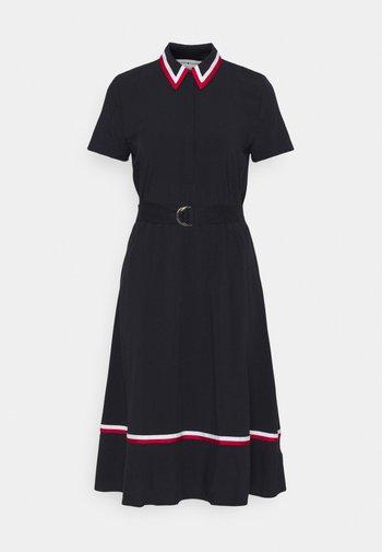 HEAVY  KNEE DRESS - Shirt dress - desert sky