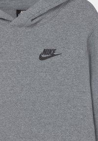 Nike Sportswear - REGRIND UNISEX - Jersey con capucha - obsidian/dark smoke grey - 2