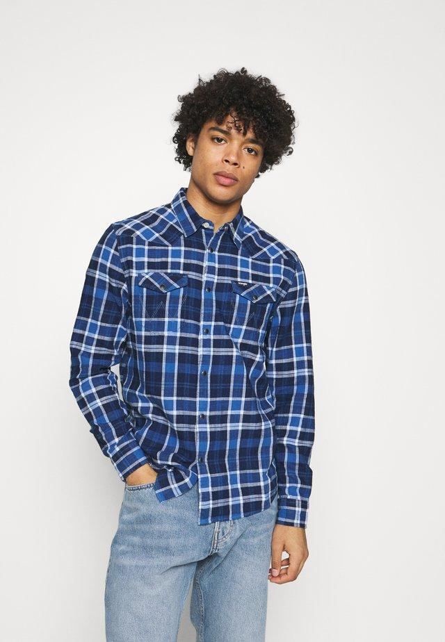 WESTERN - Overhemd - limoges blue