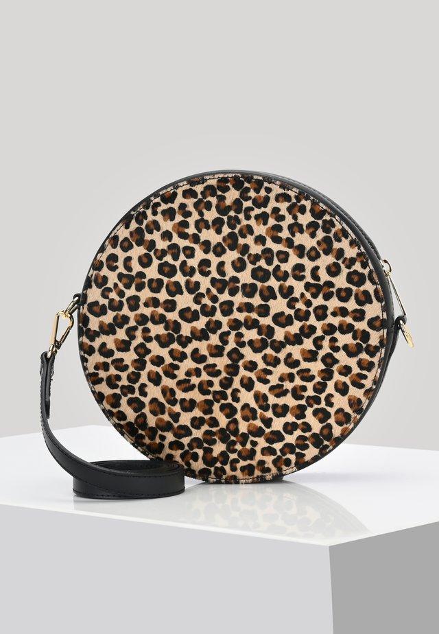 CAPRI  - Across body bag - beige/brown/black