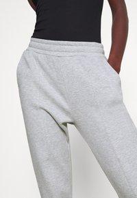 Even&Odd Tall - REGULAR FIT JOGGERS - Tracksuit bottoms - mottled light grey - 4