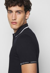 Emporio Armani - Polo shirt - dark blue - 5