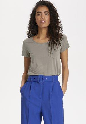 Basic T-shirt - vetiver