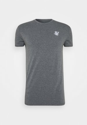 STRAIGHT GYM TEE - T-shirts - grey
