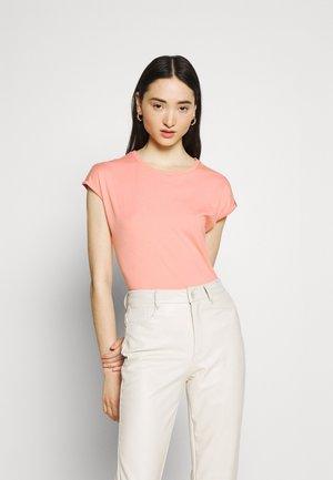 DIONE - T-shirt basique - coral