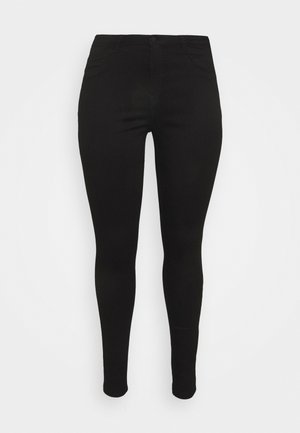 NMCALLIE SKINNY JEANS  - Skinny džíny - black denim