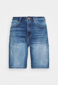 ONLY - ONLPAOLA LIFE - Denim shorts - blue denim - 4
