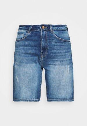 ONLPAOLA LIFE - Jeansshort - blue denim