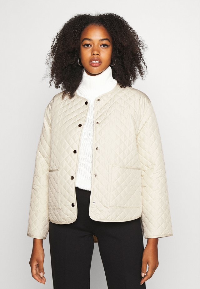 YLVA QUILTED  - Jas - offwhite