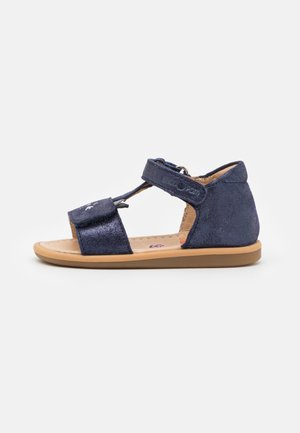 TITY MIAOU - Sandals - navy