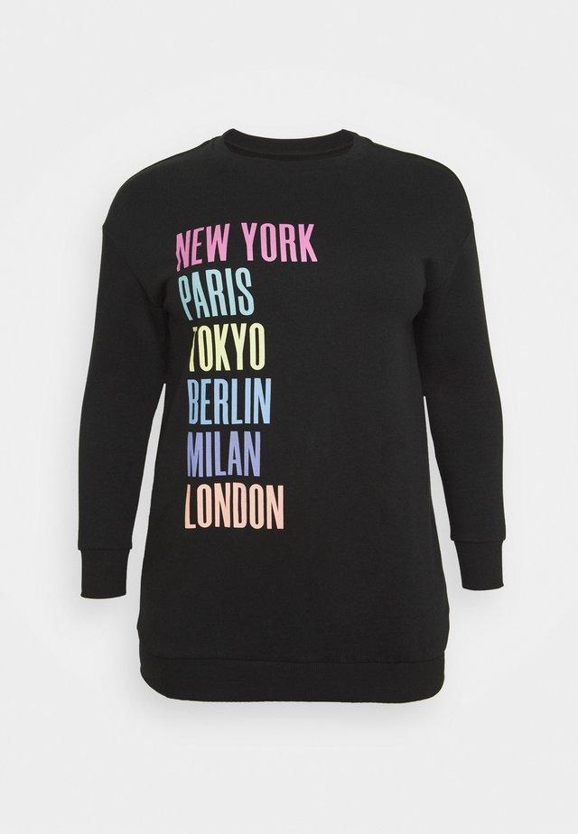 CITIES LONLINE - Sweatshirt - black