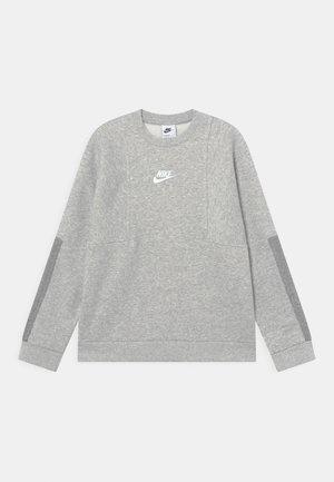 AIR CREW - Mikina - grey heather/dark grey heather/white