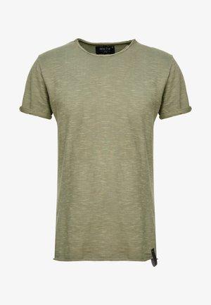 ALAIN - Basic T-shirt - army