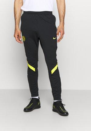 CHELSEA PANT - Club wear - black/opti yellow