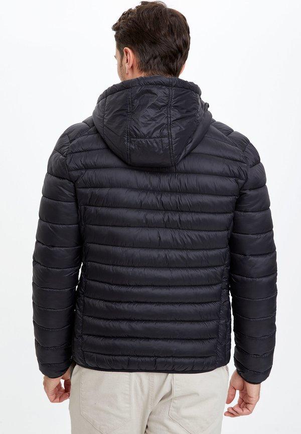 DeFacto Kurtka zimowa - Black/czarny Odzież Męska ETDV