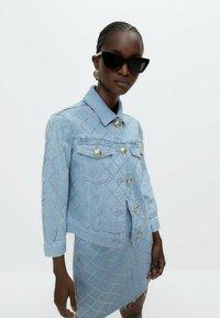 Uterqüe - Denim jacket - blue - 0