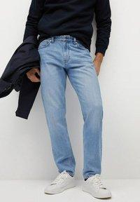 Mango - BOB - Jeans a sigaretta - hellblau - 0