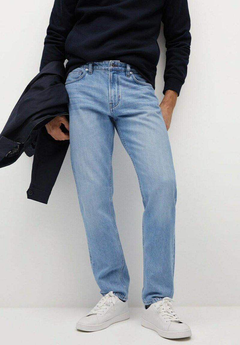 Mango - BOB - Jeans a sigaretta - hellblau