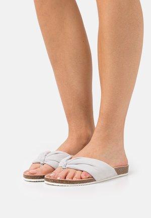 Teensandalen - light grey