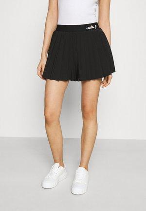 GEENA - Mini skirt - black