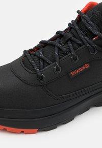 Timberland - FIELD TREKKER - Trainers - black - 5