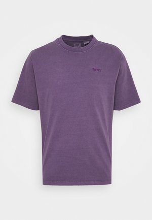 VINTAGE TEE - T-shirt basic - loganberry