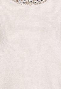 ONLY - Jumper - pumice stone/white melange - 2