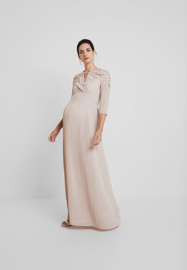 NEKANE DRESS - Galajurk - whisper pink