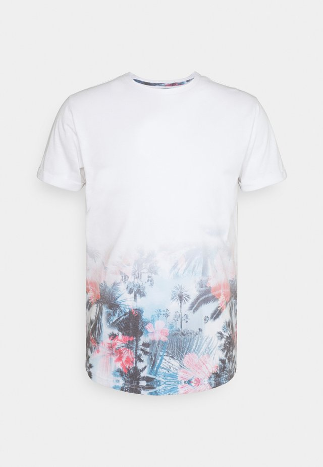 AVILES - T-shirt con stampa - offwhite