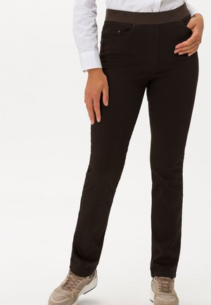 STYLE PAMINA - Jean slim - brown