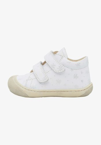 Chaussures à scratch - weiß