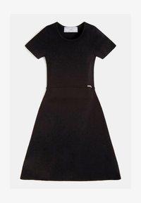Guess - RIPPEN - Day dress - schwarz - 0