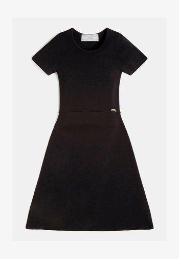 RIPPEN - Korte jurk - schwarz
