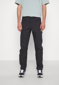 Dickies - DUCK CARPENTER PANT - Reisitaskuhousut - black - 0