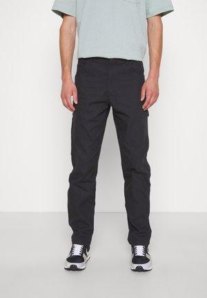 DUCK CARPENTER PANT - Cargo trousers - black