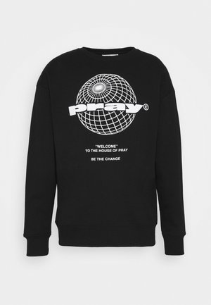 PRAY GLOBE UNISEX - Collegetakki - black