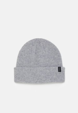 SLHCRAY BEANIE - Mütze - light grey melange