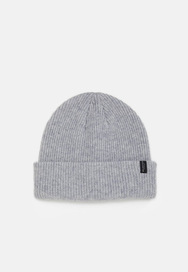SLHCRAY BEANIE - Bonnet - light grey melange
