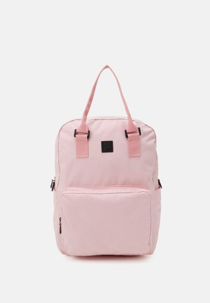 COATED CONVERTIBLE MID BACKPACK UNISEX - Rucksack - coral blush