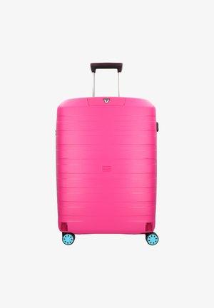 BOX YOUNG - Wheeled suitcase - azzurro magenta
