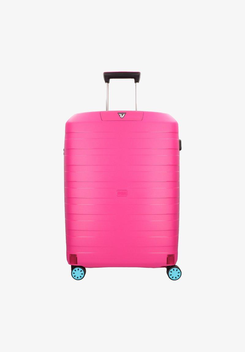 Roncato - BOX YOUNG - Wheeled suitcase - azzurro magenta
