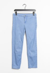 Vila - Trousers - blue - 0