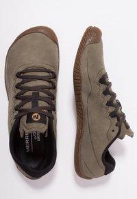 Merrell - VAPOR GLOVE LUNA - Minimalist running shoes - dusty olive - 5