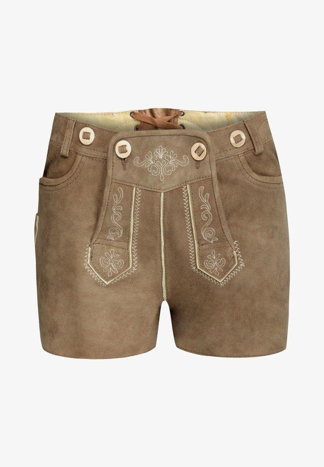 Shorts - hellbraun